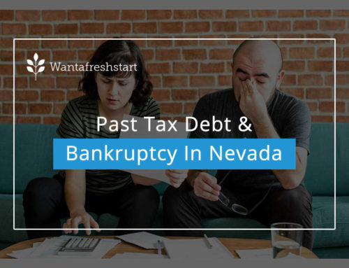 Past Tax Debt & Bankruptcy In Nevada