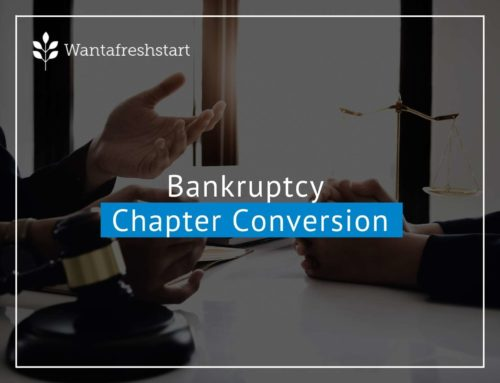 Bankruptcy Chapter Conversion